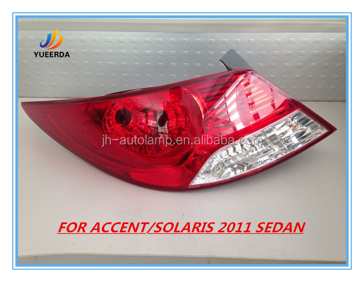 2011 ACCENT TAIL LAMP TAIL LIGHT REAR LAMP AUTO LAMP BODY KITS FOR ACCENT 2010 2011 2012 FOR HYUNDAI SOLARIS