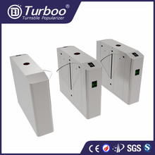 Stainess steel Flap turnstile security Speed gate Electronic turnstile