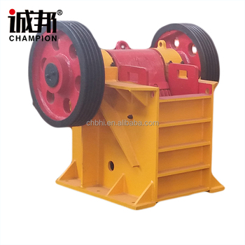 2017 New Good PE250X400 jaw crusher for granite crushing and rock crushing quarry plant