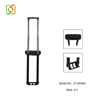 Cheap Button Luggage Handle Telescopic Trolley Spare Parts
