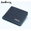 2016 school style cross color Fashion Quality Men Wallets Photo Credit Card Holders Purse Wallets