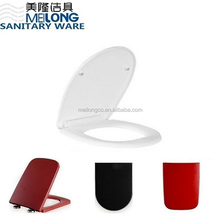 special price sanitary ware Oval shape white Plastic toilet seat cover