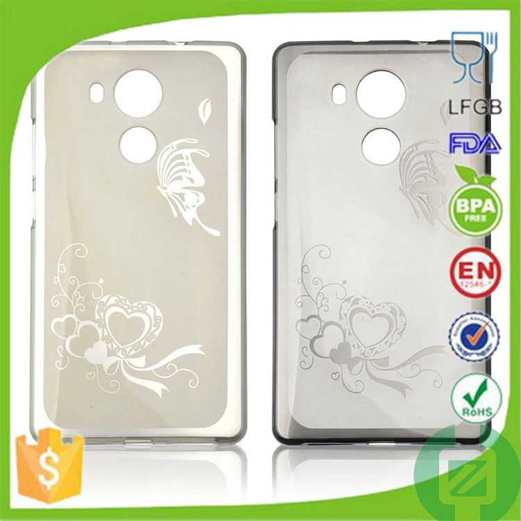 low price tpu phone case for huawei ascend p1 u9200