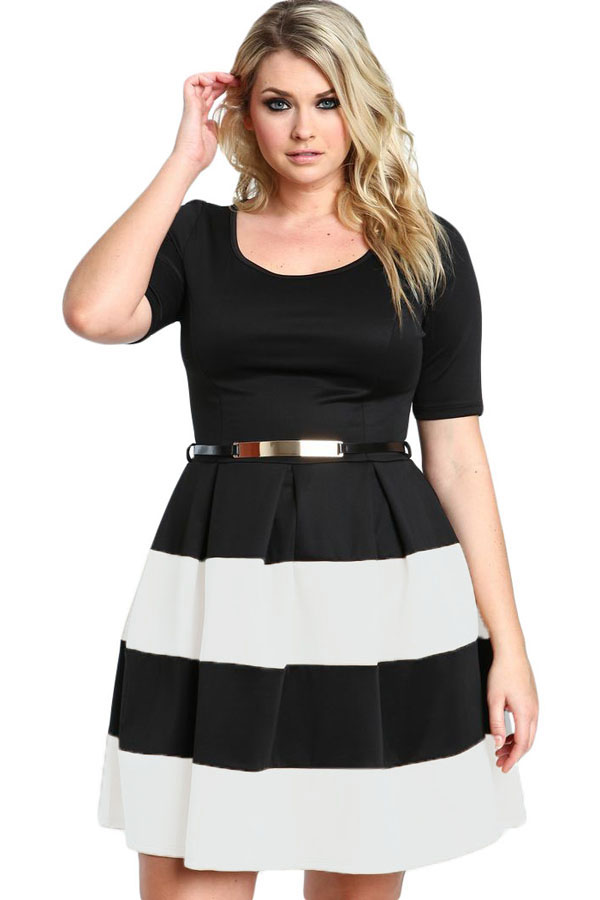 Sexy Fashion 3XL Women Clothing Plus Size Dress