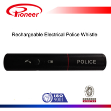 metal rechargeable electronic police alarm whistle