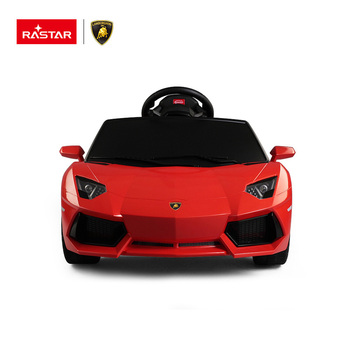 rastar lamborghini aventador kids ride on electric car