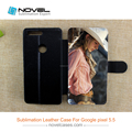 Pu leather Flip Wallet Cell Phone Case For Google 5.5""