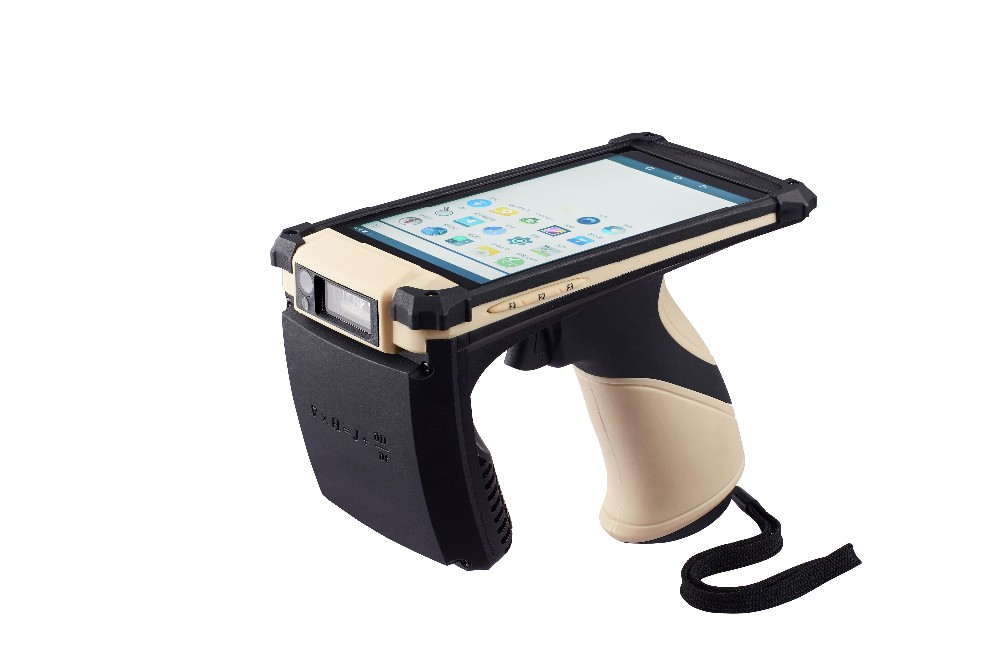 Industrial PDA with Android OS,barcode scanner,RFID Reader,IP65.UHF RFID data terminal