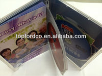 Video Audio CD and DVD replication with offset printing