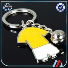 Promotional mini Football clothes colorful metal keyring