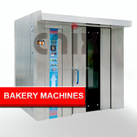 32 Trays Gas Bread Baking Oven,Rotary Bakery Oven