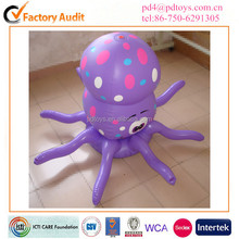 garden toys PVC Inflatable spray sprinkler octopus