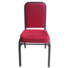Molded Seat Interlocking Stacking Metal Church Banquet Hall Chairs