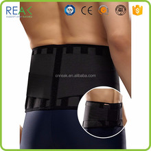 New polyamide with spring stay Black waterproof back support
