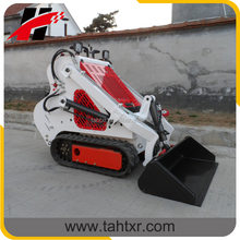 China mini crawler skid steer loader with 830mm width and indepedant traction system