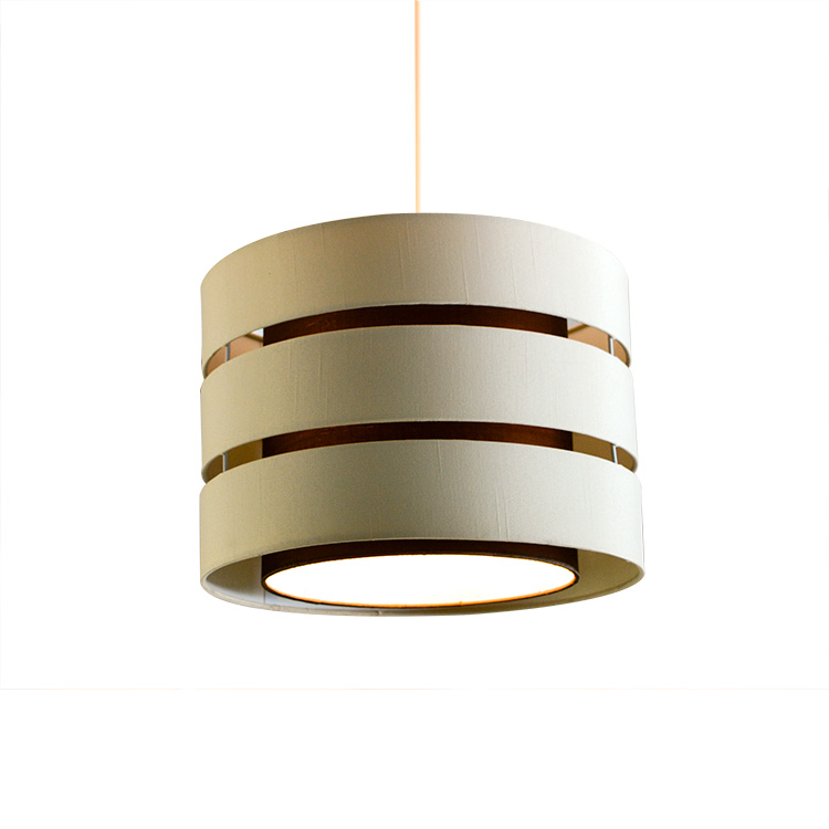Modern laser cut TC fabric lamp shade home decors funiture pendant light