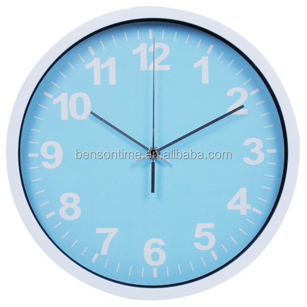 Cason Cheap Plastic Wal Clock For Promotional Gift