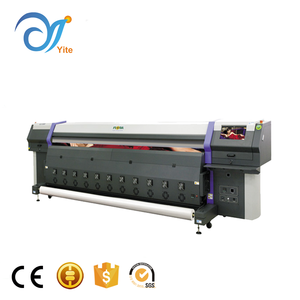 Competitive price multi colour flora digital print solvent inkjet machine