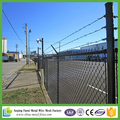Alibaba china 2015 hot sale black pvc coated perimeter security removable chain link fence