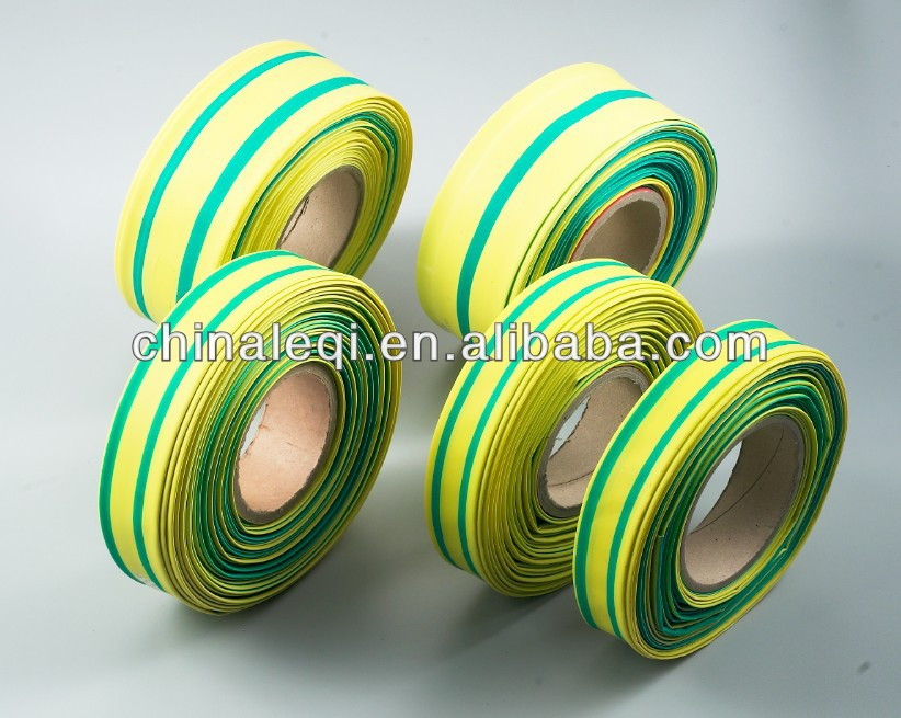 Yellow Green Heat Shrinkable Tube