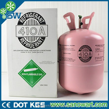 Basic Organic Chemicals R410a refrigerant gas 11.3kg with competitive price