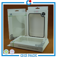 Customized Design Plastic Pet Clear Packaging Box For Mobile Phone Accessories And Cell Phone Case