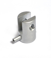 Hardware accessories with 2 screw thread, for display