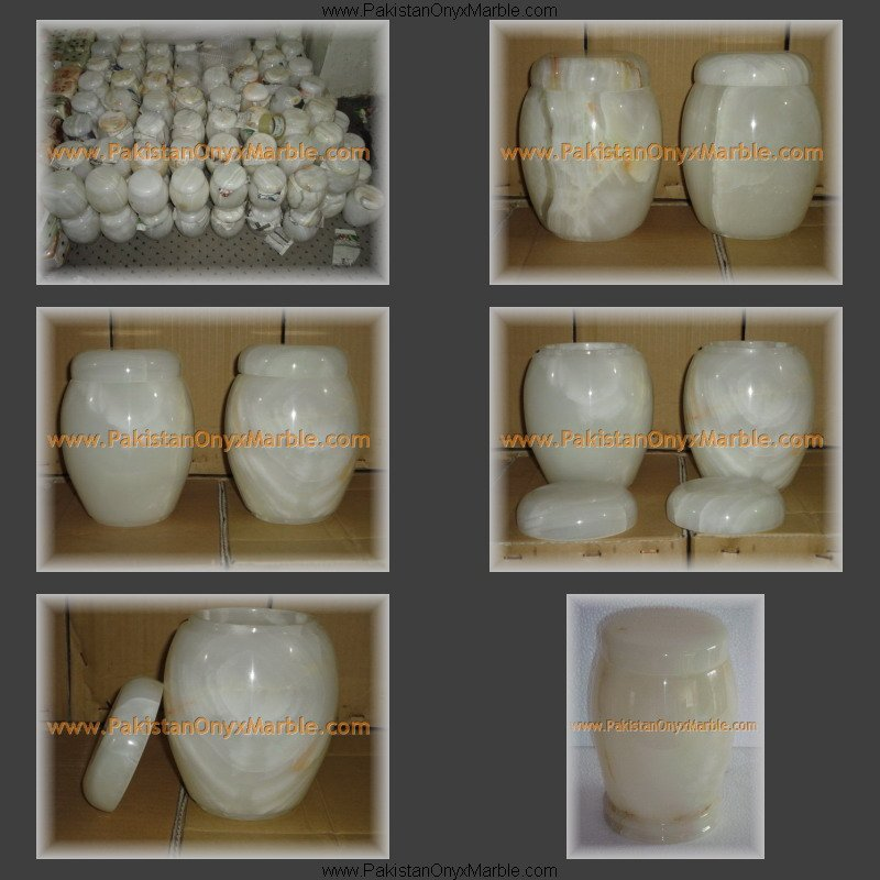 GENUINE ONYX CREMATION URN