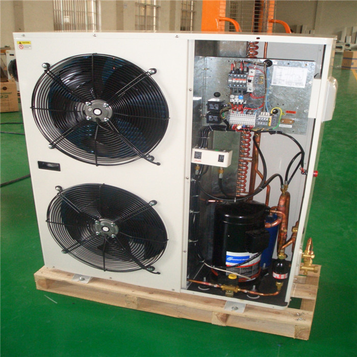 hot sale DC fan-cooled condensing unit(scroll compressor/medium temperature) for frozen food