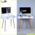 Solid wood stand modern dressing table wardrobe for online shop
