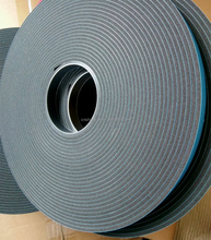 high density blue film double sided PVC foam tape for window door seal