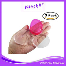 YAESHII 3 Clear Silicone Makeup Applicator Sponges Perfect for BB CC Cream 2017