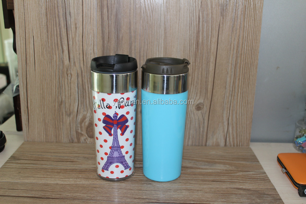 new products Double Wall Stainless Steel Starbucks Coffee Mug Travel Mug Or Tumbler With Paper Insert