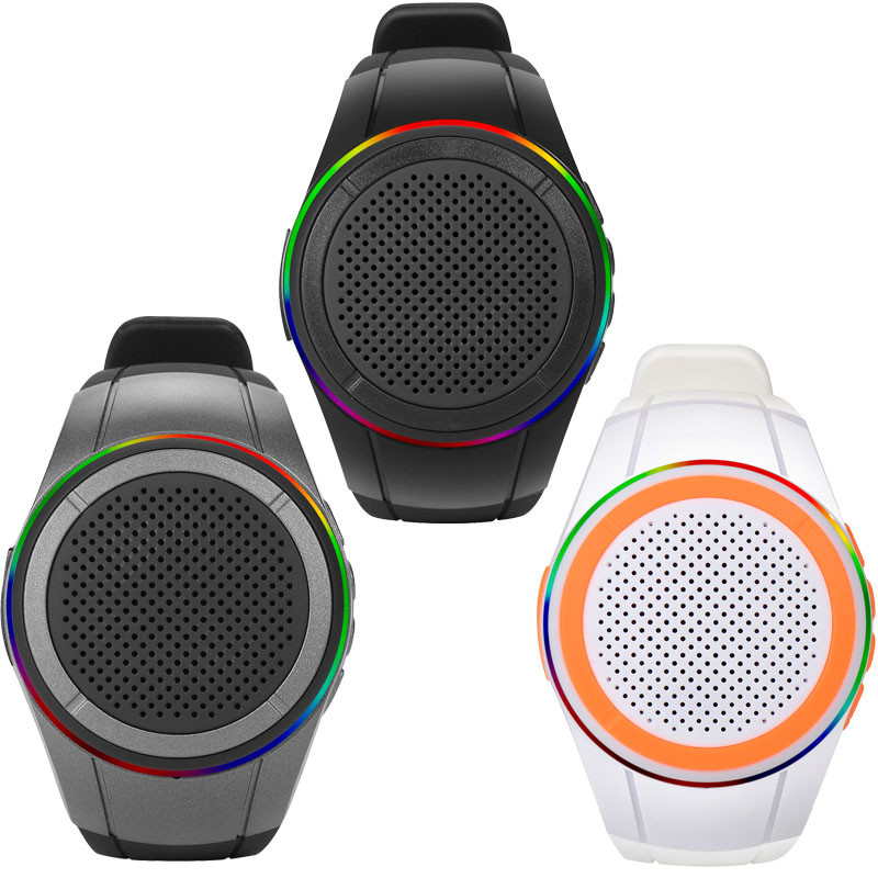 X10 LED fm radio, <strong>mp3</strong>, selfie, Watch Type Run Cycle sports Long 3W mini portable Rechargeable Outdoor Wireless Bluetooth Speaker