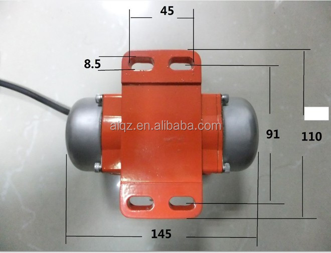 The Micro Type Aluminum Shell Electric Vibration Motor