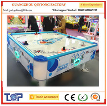 high quality 4 person air hockey table for shopping mall