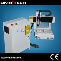 China high quality advertising CNC router/MINI router CNC 3030 OMNI