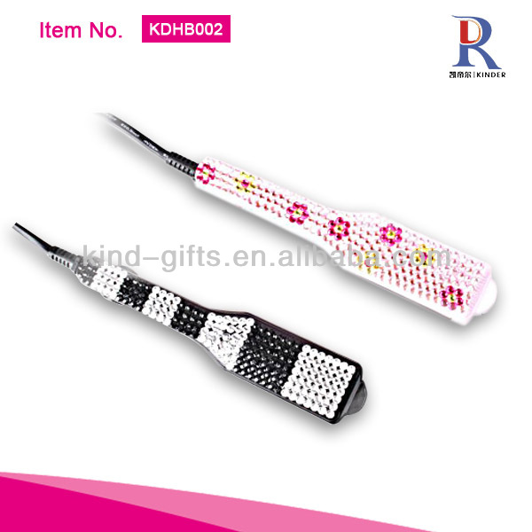 Professional Bling Crystal Top Flat Irons