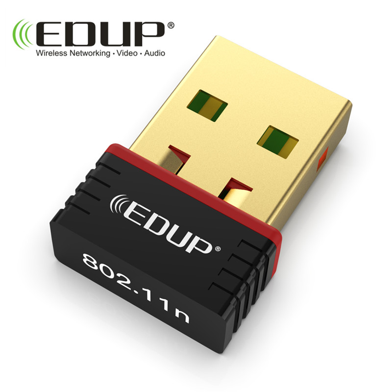 EDUP 150Mbps new arrival EP-N8566 mini usb wifi adapter for free driver