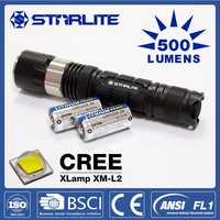 STARLITE 500 lumens IPX7 5 modes high power linterna explosion proof