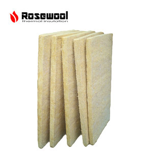 mineral fiber insulation rockwool batts acoustic board in China