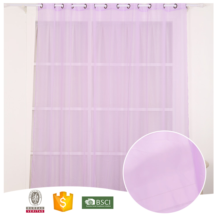 China Manufacturer Famous Brand Luxury sheer drapes