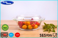 High borosilicate glass crystal cooking pot
