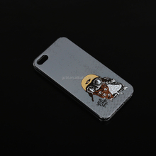 Phone Accessories Cover Best Seller Soft Silicon with Print Clear Bumper Back Cover Case For iPhone 5 case