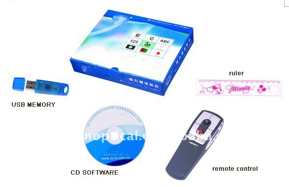 China Ophthalmic equipment,Vision Test software (RS-2009)