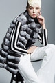 Fashion Women Chinchilla Fur Vest Chinchilla Fur Coat/Jacket Hot
