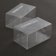 hot sale transparent printed plastic pvc box package,small plastic cosmetic box,pvc packaging