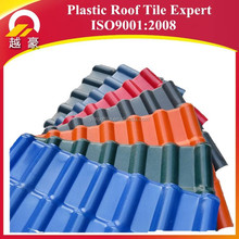 2.5-3mm spanish styles roof tiles/lasting color asa synthetic resin tile