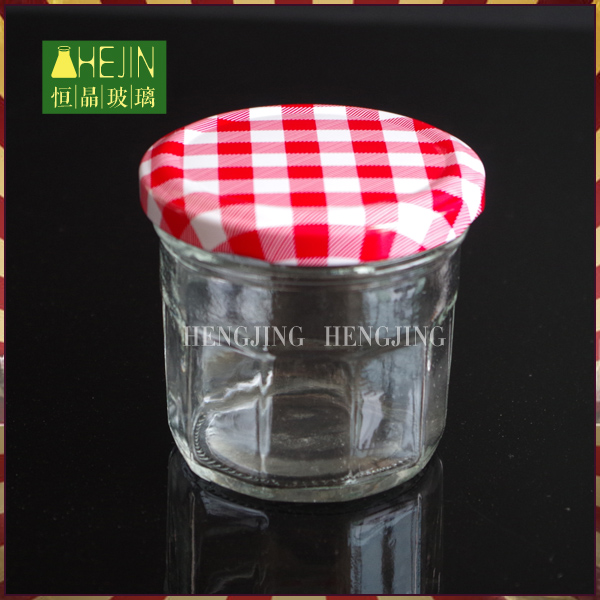 High quality 150ml recycled food processor glass jar for caviar