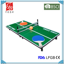 MDF 0.9 cm mini ping pong game table game table tennis game with factory price